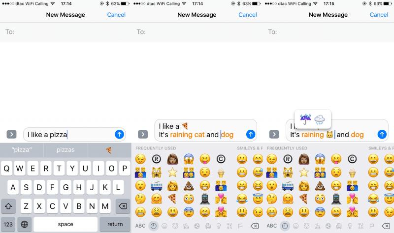 ios 10 imessage emoji keyboard