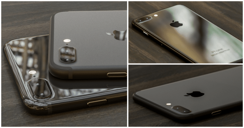 หลุด !! ภาพต้นแบบ iPhone 7 สองสีใหม่ Glossy Black และ ...