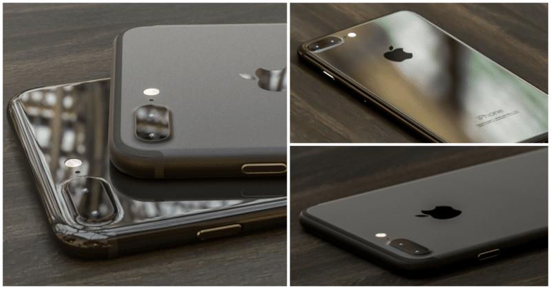 iphone 7 space black glossy black