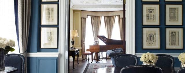 ตัวอย่างห้องพักของทาง Claridge's