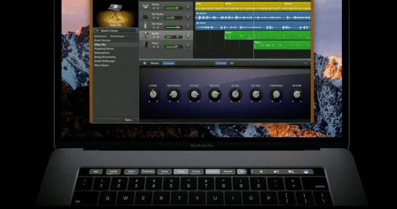 touch-bar-garageband-macbook-pro