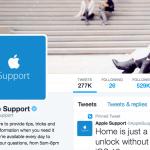 Twitter มอบรางวัลบริการลูกค้าดีเด่นให้กับ @AppleSupport