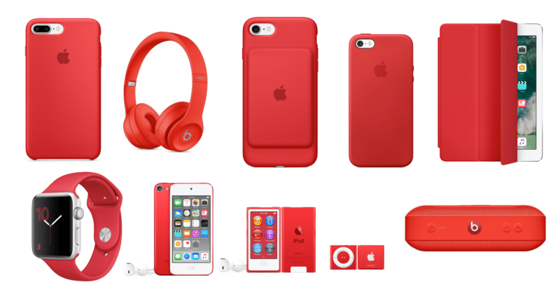 Best Apple PRODUCT(RED) products