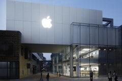 ภาพ Apple Store สาขา Sanlitun ในปักกิ่ง ประเทศจีน