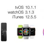 Apple ออกอัพเดต watchOS, tvOS, iTunes เน้นแก้บั๊กและปรับปรุงความปลอดภัย