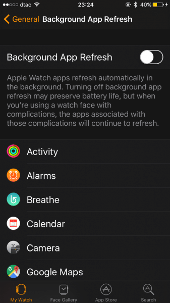 how to save battery apple watch-9