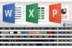 touch bar microsoft office 2