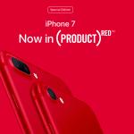 """เปิดตัว iPhone 7 สีแดง """"(Product) RED"""" รายได้นำไปช่วยต่อต้านโรคเอดส์"""