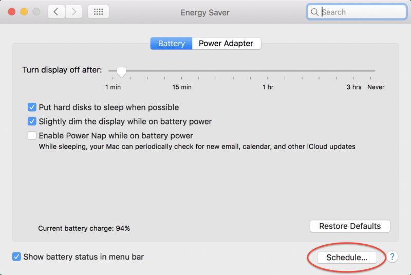 how to schedule mac to sleep wake up restart shutdown-4