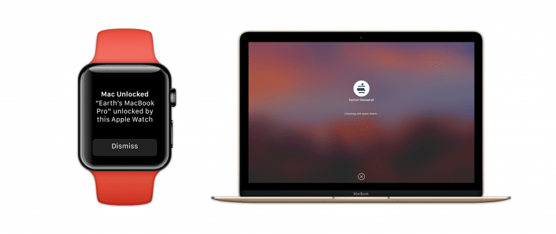 how to setting unlock mac by apple watch-5
