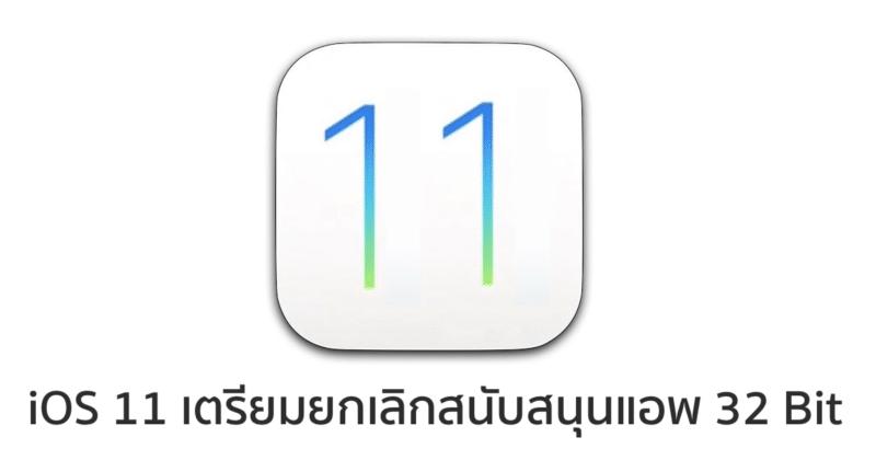 ios 11 not support 32-bit app