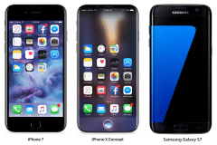 iphone 7 8 samsung galaxy s7