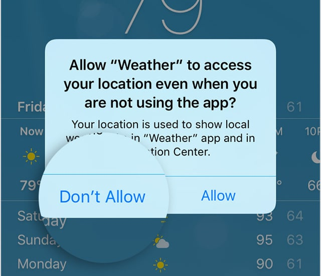 iphone6-ios9-weather-app-location-sharing-dont-allow