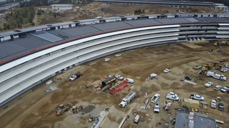 new-apple-park-drone-footage-reveals-occupied-research-and-development-building-landscaping-progress-3