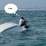 หนุ่มอังกฤษพยายามนำทางเรือด้วย iPad ลืมไปว่าต้องใช้เน็ต สุดท้ายชนกะเรือเฟอร์รี่