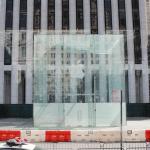 Apple Fifth Avenue ได้รับอนุญาตให้ยกกระจกหน้าร้านออกระหว่างการปรับปรุงแล้ว