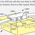 Apple จดสิทธิบัตรเคส AirPods กันน้ำได้ และเป็นแท่นชาร์จ iPhone, Apple Watch ได้