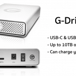 Western Digital เปิดตัว USB-C G-Drive ความจุสูงสุด 10TB, ชาร์จ MacBook ได้ด้วย