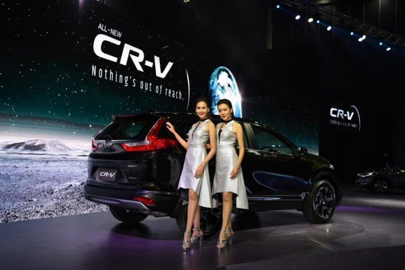 Honda เปิดตัว CR-V ใหม่ ครั้งแรกกับขุมพลัง 1.6 ลิตร i-DTEC DIESEL TURBO
