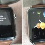 พบฟีเจอร์น่ารัก Apple Watch ส่งข้อความ Happy Birthday บน watchOS 4