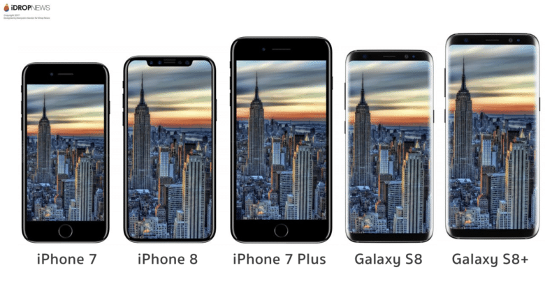 iphone 7 plus 8 samsung galaxy s8 s8+ 2