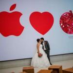 เธอช่างงามและเพอร์เฟคดั่ง Apple คู่รักถ่ายรูปแต่งงานกันในร้าน Apple Orchard Road