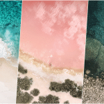 แจกฟรี !! Wallpaper รูปชายหาด 3 แบบใหม่ บน iOS 10.3.3 Beta