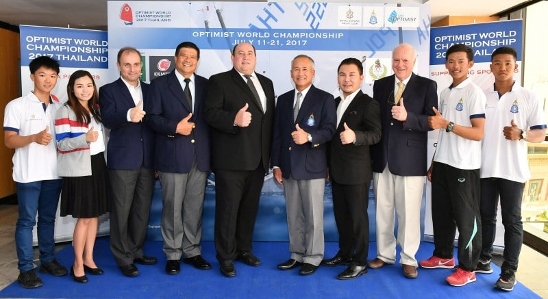 Thailand to host Optimist World Championship 2017 2