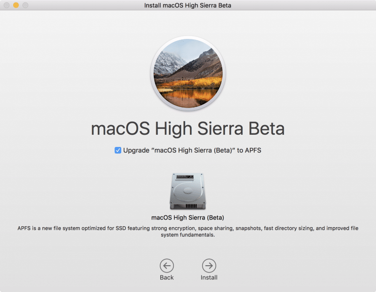 how to install macos high sierra by partition disk-13