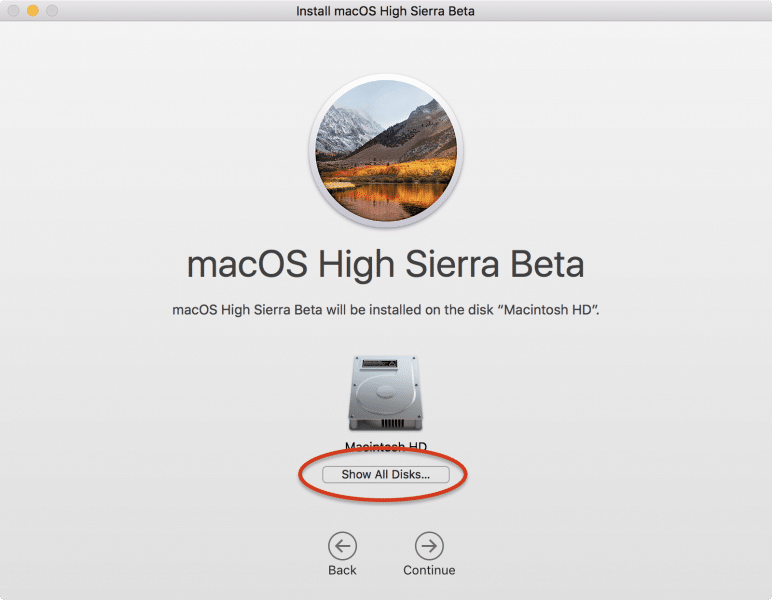 how to install macos high sierra by partition disk-15