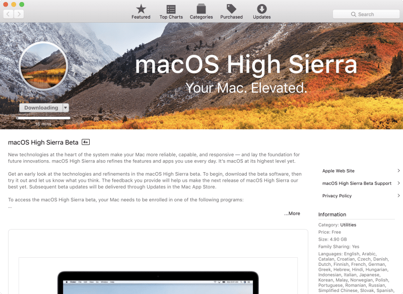 how to install macos high sierra by partition disk-4