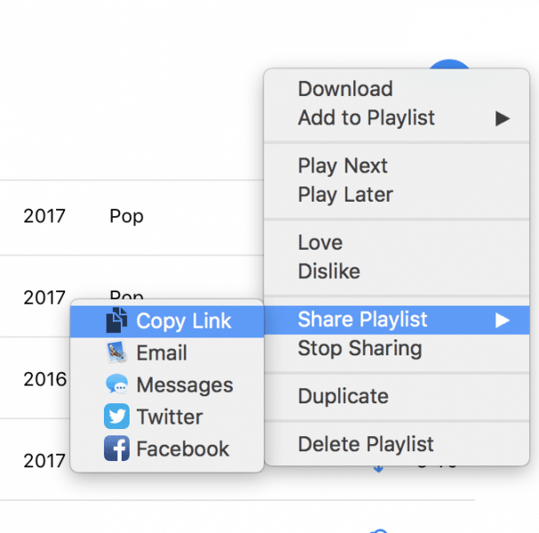 how to share itunes music playlist-2