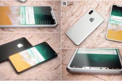 iphone 8 white black
