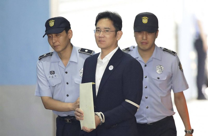 samsung-heir-lee-jaeyong-found-guilty-of-bribery-sentenced-to-five-years-in-prison