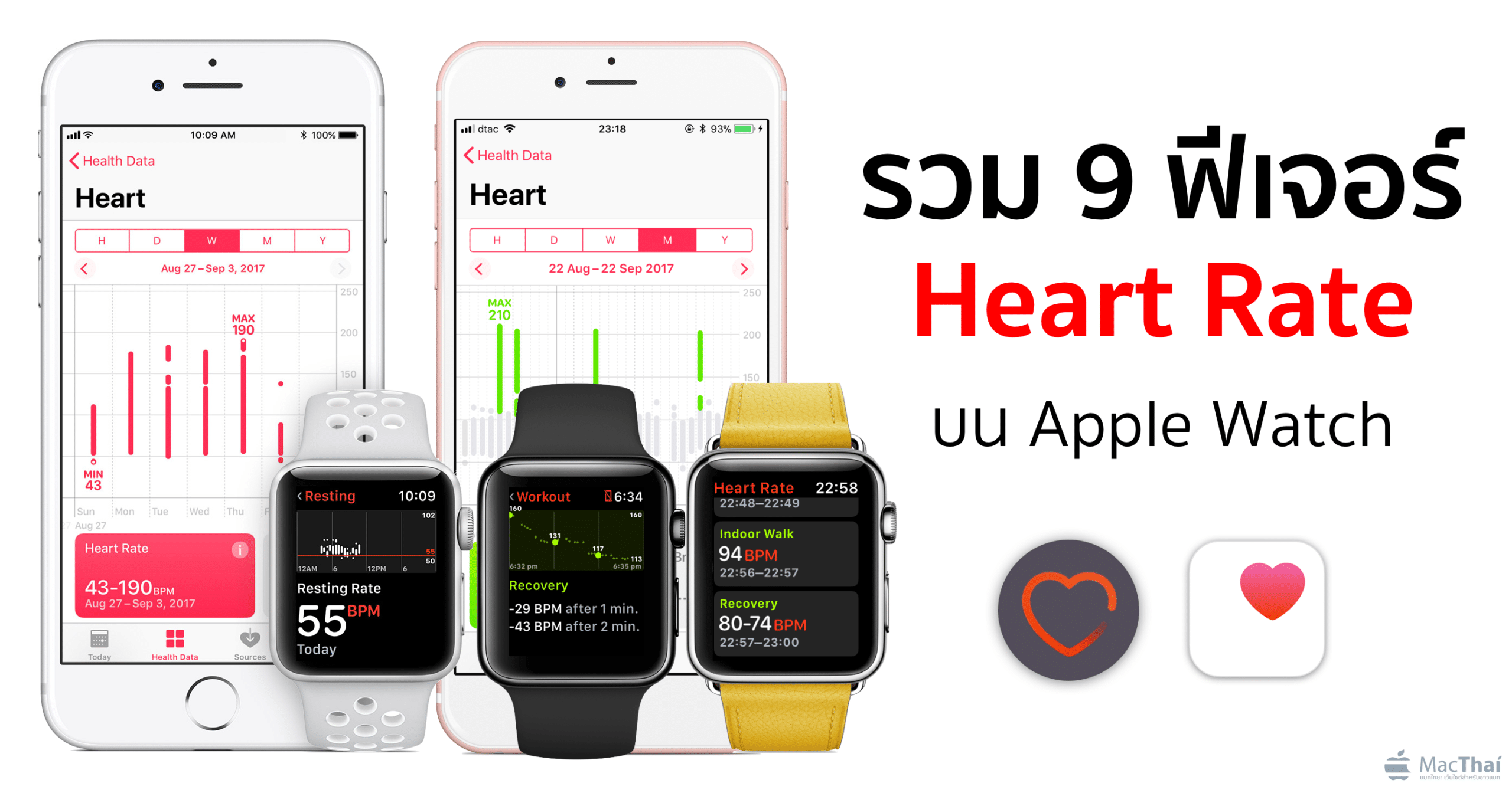 9 features apple watch heart rate