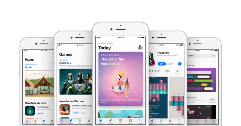 App Store ภาพจากเว็บไซต์ Apple