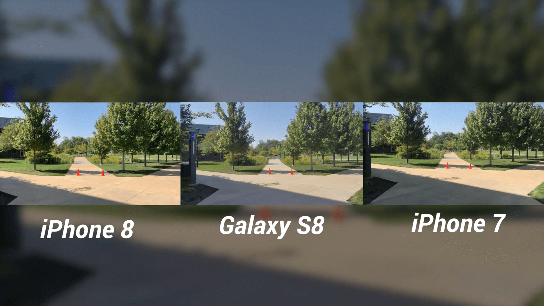 iPhone 8 Camera Test vs Galaxy S8 & iPhone 7-1