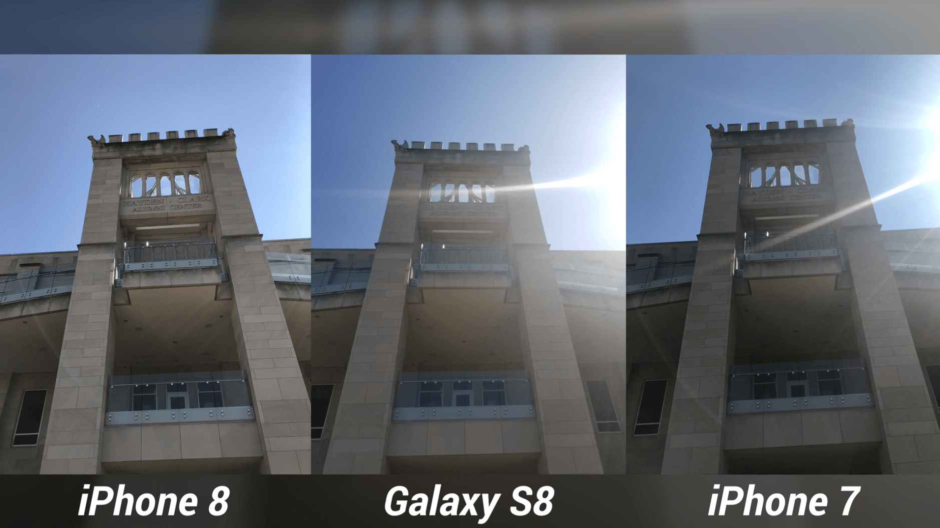 iPhone 8 Camera Test vs Galaxy S8 & iPhone 7-10
