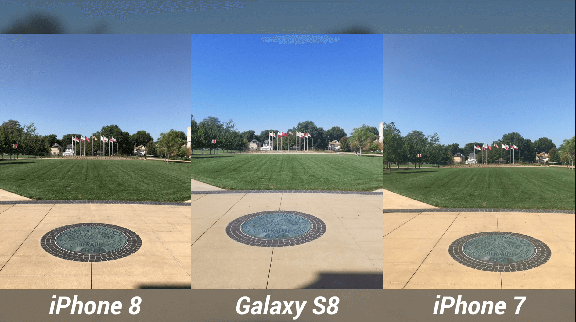iPhone 8 Camera Test vs Galaxy S8 & iPhone 7-12