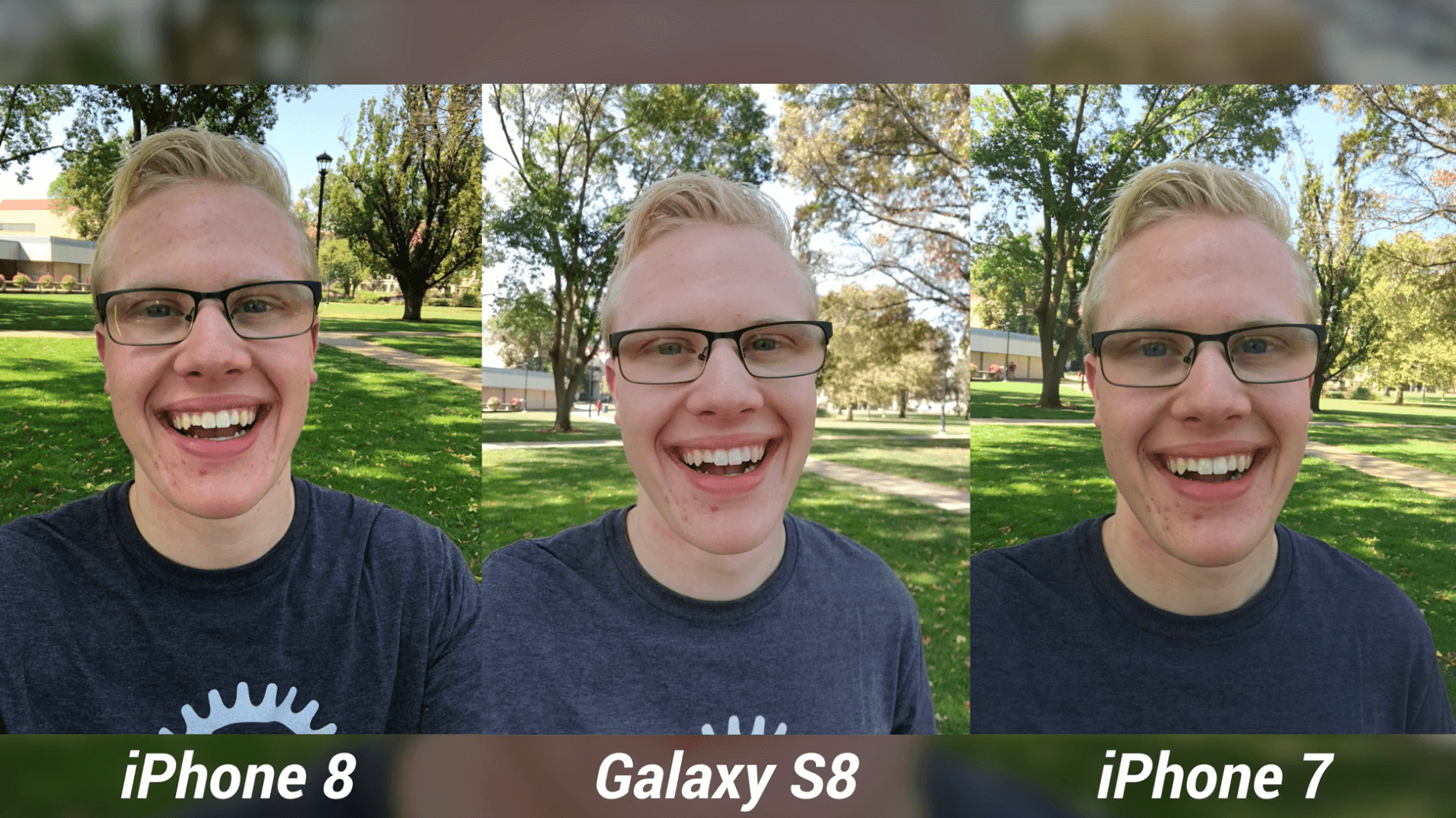 iPhone 8 Camera Test vs Galaxy S8 & iPhone 7-5