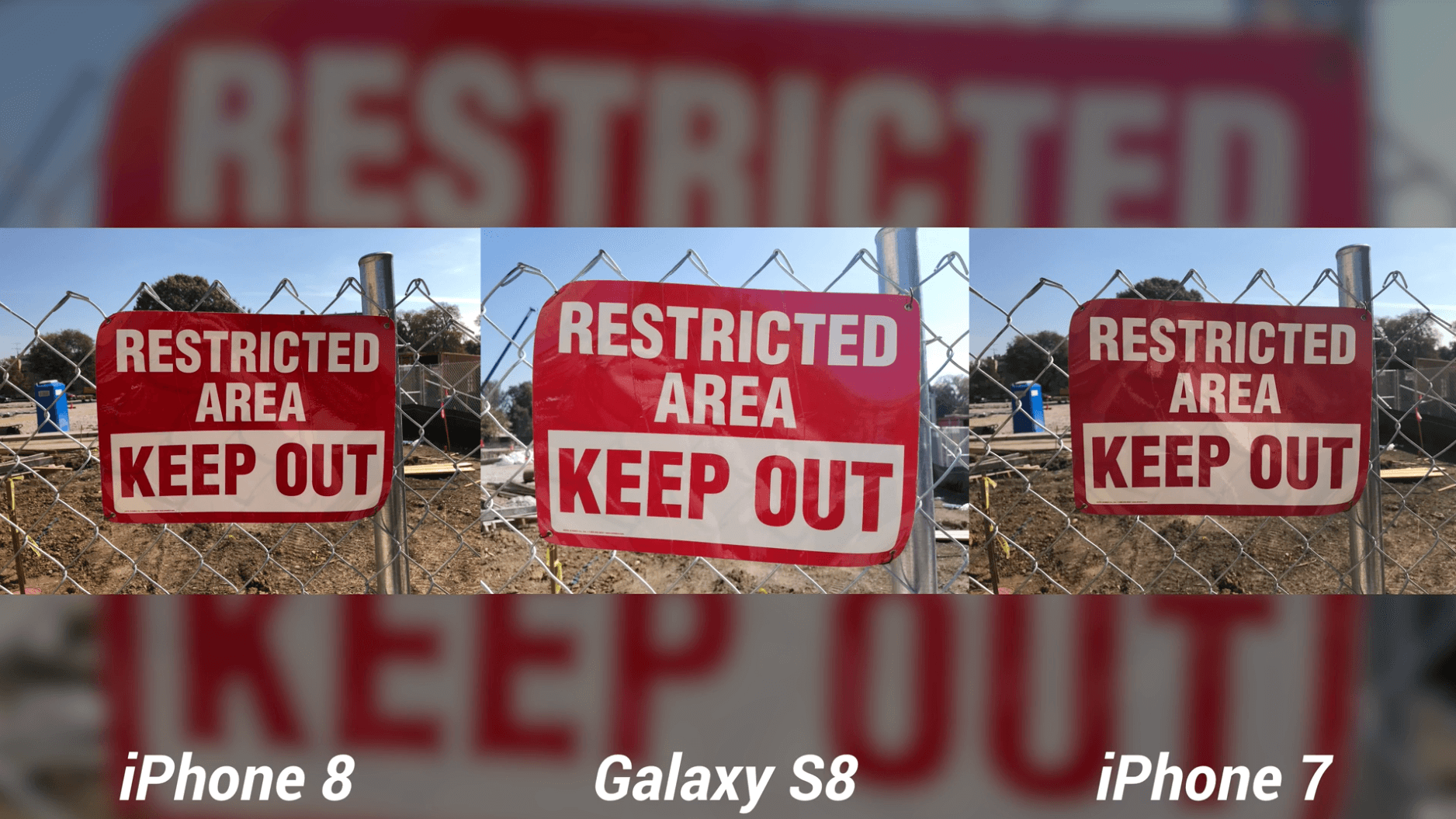 iPhone 8 Camera Test vs Galaxy S8 & iPhone 7-7
