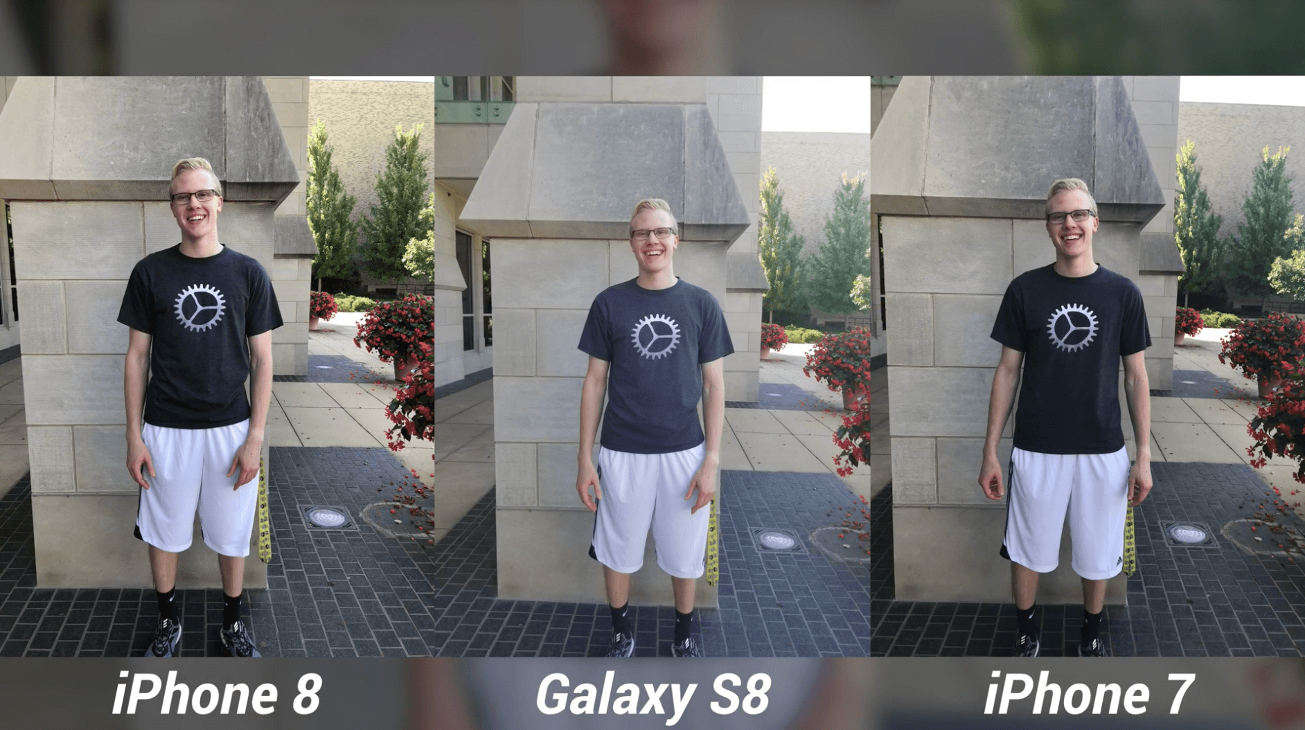 iPhone 8 Camera Test vs Galaxy S8 & iPhone 7-8