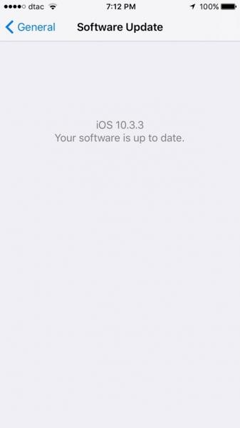 ios 10.3.3 update