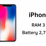 iPhone X อาจมาพร้อม RAM 3GB, แบต 2,716 mAh เยอะกว่า iPhone 8 และ 8 Plus