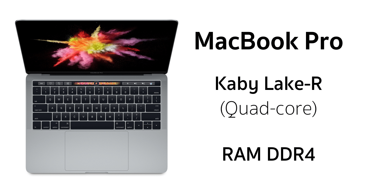 macbook pro intel kaby lake-r 2
