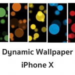หลุดภาพ Dynamic Wallpaper ชุดใหม่สำหรับ iPhone X โดยเฉพาะ
