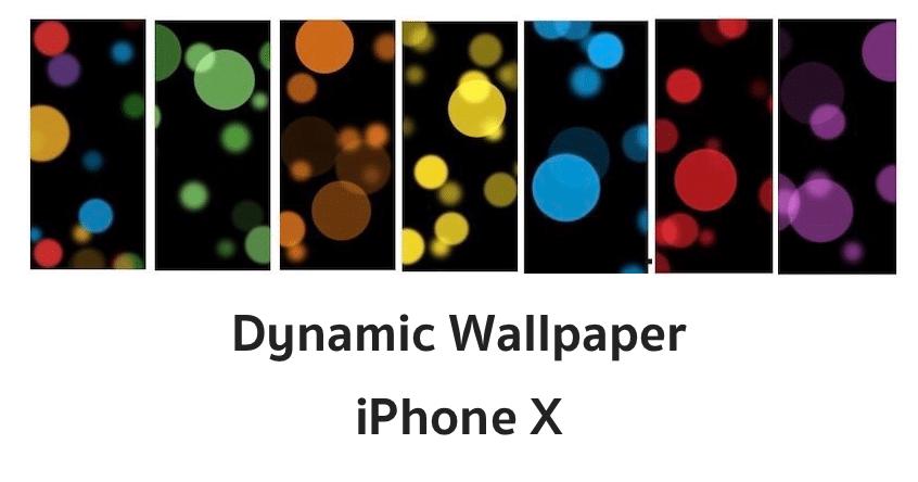 Dynamic Wallpaper iphone x 2