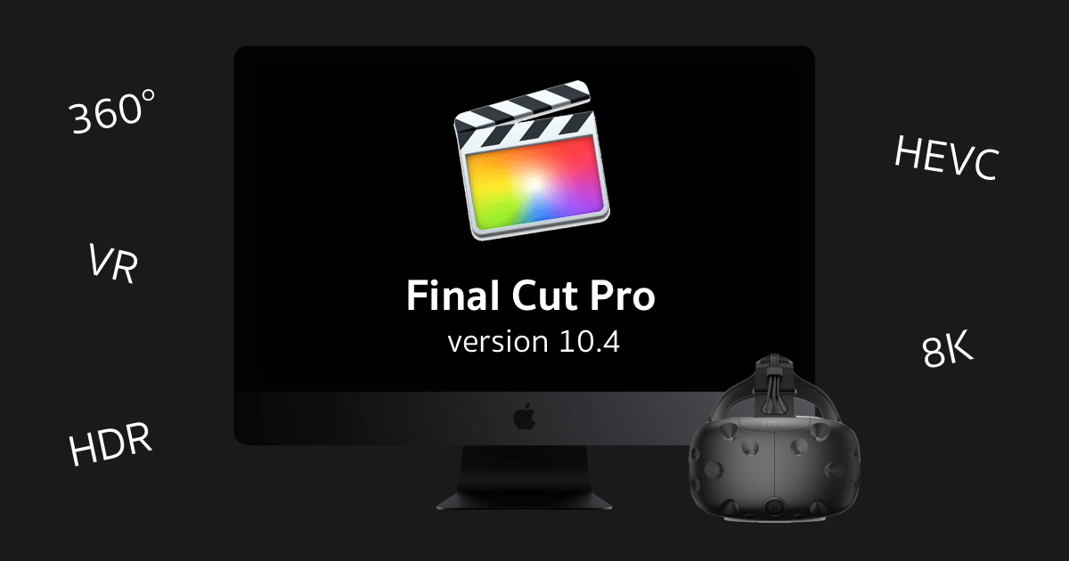 Final Cut Pro 10 4 4 key
