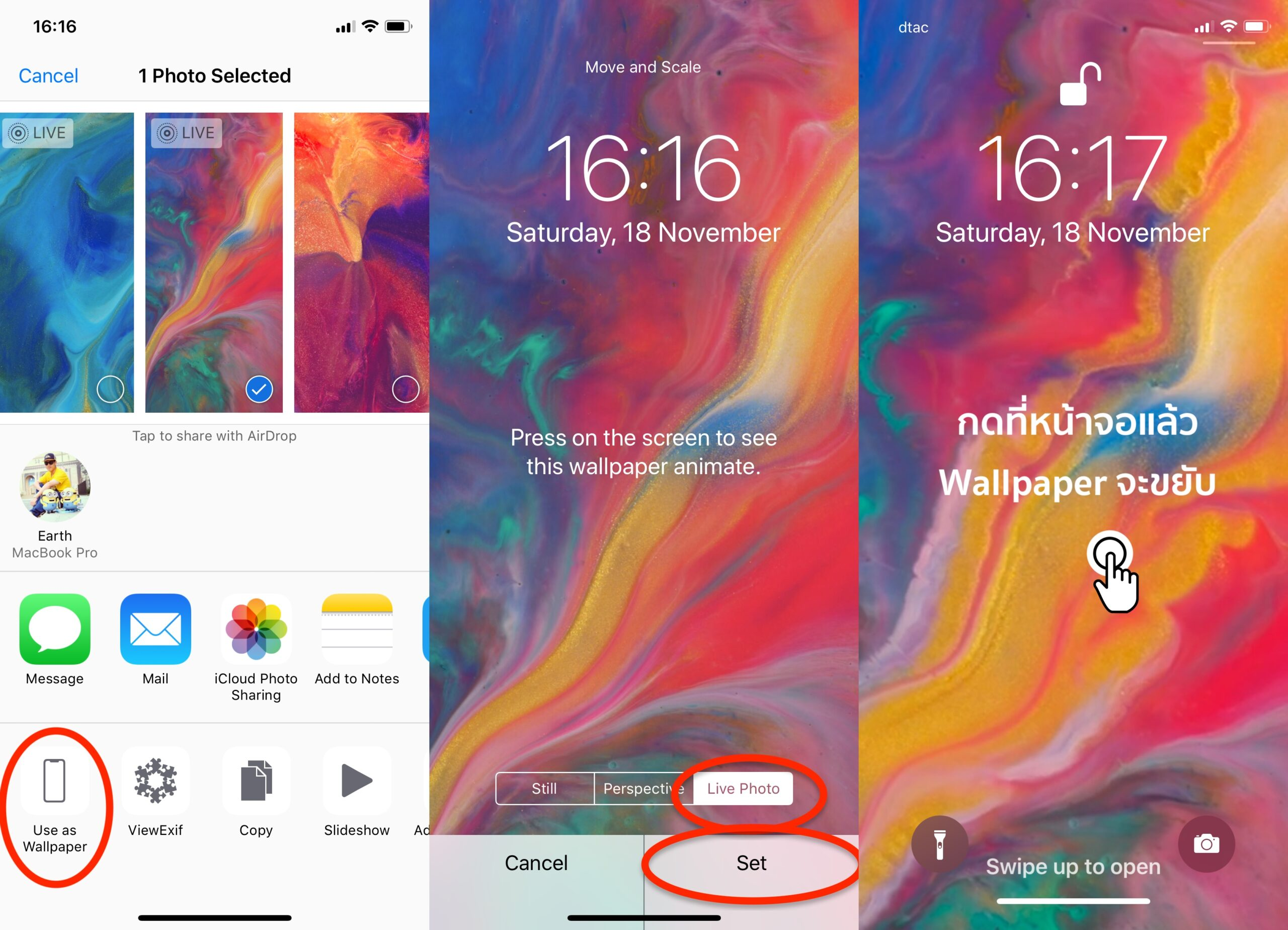 How To Download And Set Live Wallpaper 1