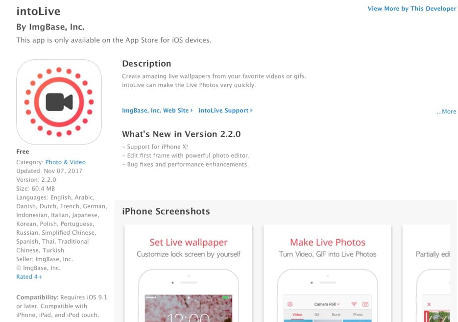 แจก] Live Wallpaper ของ iPhone X ไว้ใช้ใน